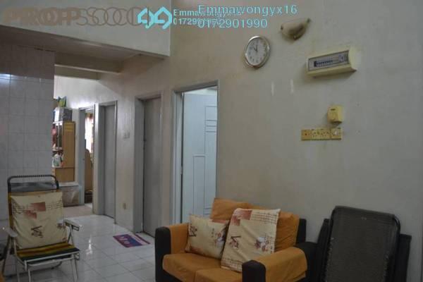 For Sale Terrace at Taman Wangsa Permai, Kepong Freehold Semi Furnished 3R/3B 368k