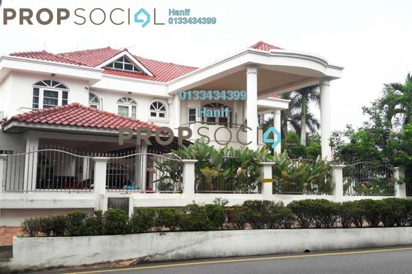 For Sale Bungalow at Pinggiran Taman Tun Dr Ismail, TTDI Freehold Semi Furnished 7R/7B 6m