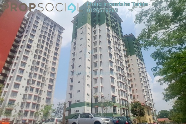 For Sale Apartment at Ilham Apartment, TTDI Jaya Freehold Unfurnished 3R/2B 250k