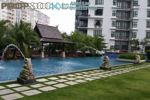 For Sale Condominium at Aurora Residence @ Lake Side City, Puchong Freehold Unfurnished 3R/2B 413k
