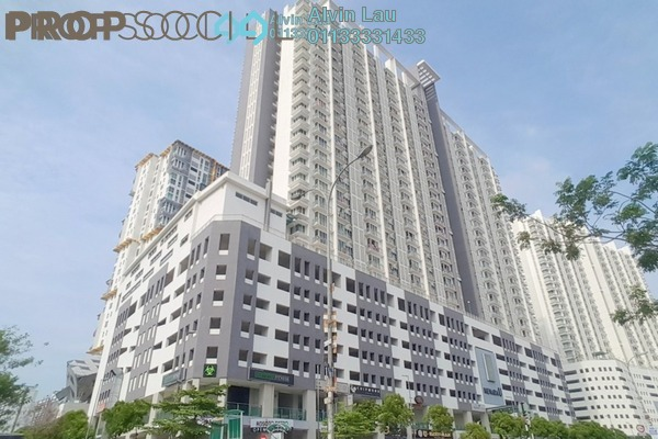 For Sale Serviced Residence at Menara U, Shah Alam Freehold Semi Furnished 2R/1B 305k