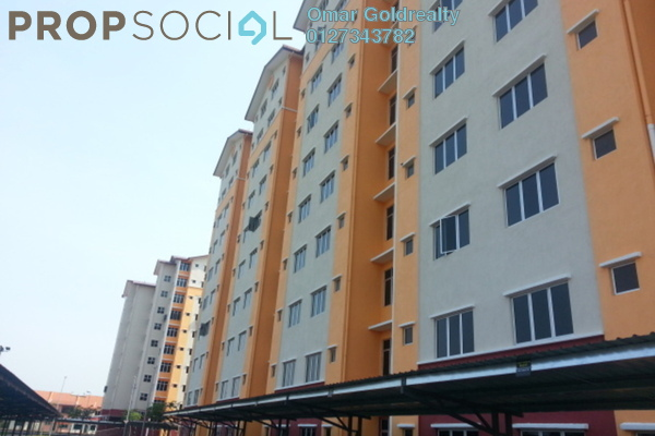 For Rent Condominium at Seksyen 5, Bangi Freehold Unfurnished 3R/2B 800translationmissing:en.pricing.unit