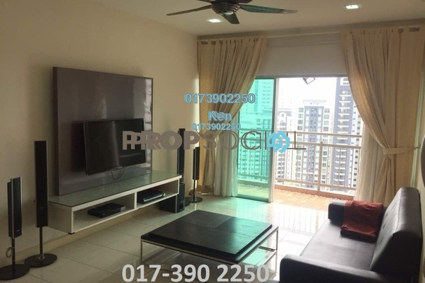 For Rent Condominium at Metropolitan Square, Damansara Perdana Freehold Semi Furnished 3R/2B 2.5k