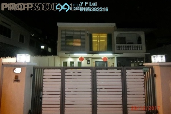 For Sale Terrace at Taman United, Old Klang Road Freehold Semi Furnished 5R/4B 1.33m