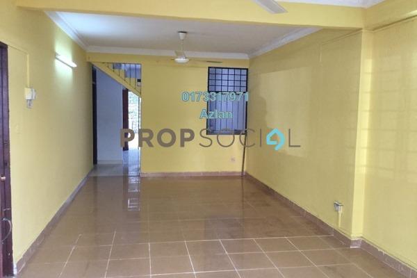 For Rent Terrace at Ampang Jaya, Ampang Freehold Semi Furnished 4R/2B 1.8k