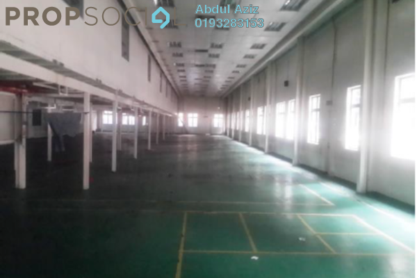 For Sale Factory at Section 6, Shah Alam Freehold Fully Furnished 0R/0B 17.5m