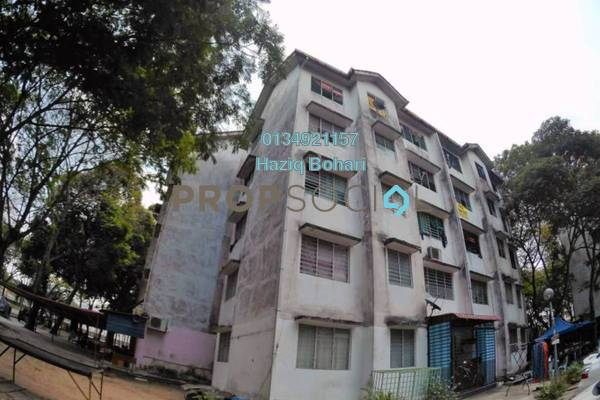 For Sale Apartment at Taman Desa Bakti, Selayang Freehold Semi Furnished 3R/2B 130k