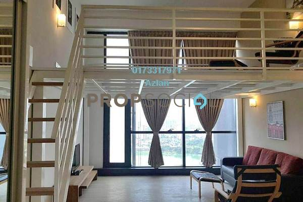 For Rent SoHo/Studio at M City, Ampang Hilir Freehold Fully Furnished 1R/1B 2.6千