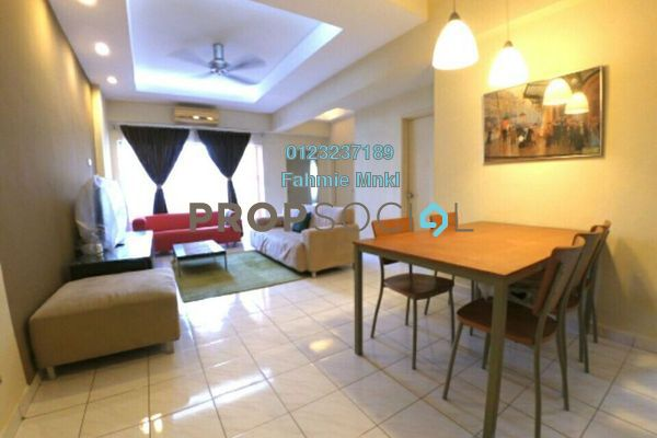 For Sale Apartment at Jalil Damai, Bukit Jalil Freehold Semi Furnished 3R/2B 465k