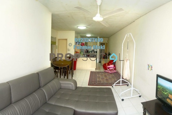For Sale Apartment at Flora Damansara, Damansara Perdana Leasehold Semi Furnished 3R/2B 215k