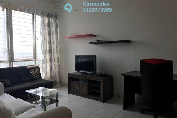 For Rent Condominium at Casa Tiara, Subang Jaya Freehold Fully Furnished 3R/2B 1.8k