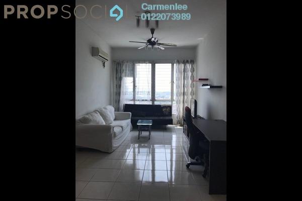 For Sale Condominium at Casa Tiara, Subang Jaya Freehold Fully Furnished 3R/2B 560k