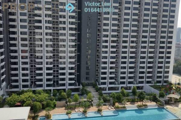 For Sale Condominium at D'Aman Ria, Ara Damansara Freehold Semi Furnished 3R/2B 620k