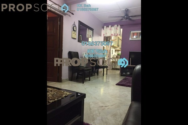 For Sale Link at Taman Sentosa, Klang Freehold Semi Furnished 3R/2B 288k