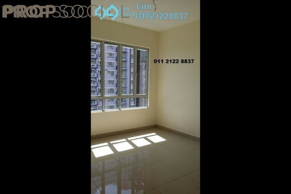 For Rent Serviced Residence at Platinum Lake PV21, Setapak Freehold Semi Furnished 3R/2B 1.6k