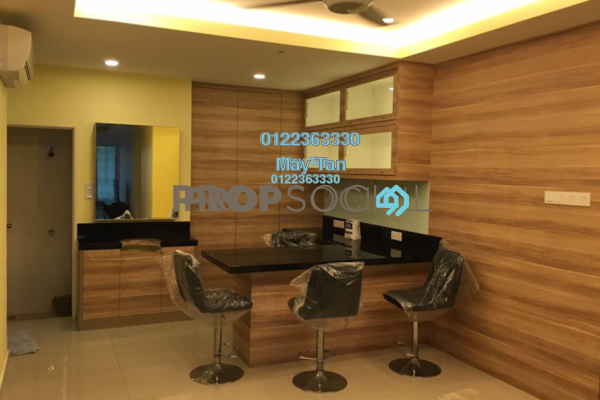 For Sale Condominium at Subang Parkhomes, Subang Jaya Freehold Fully Furnished 3R/2B 1.18m