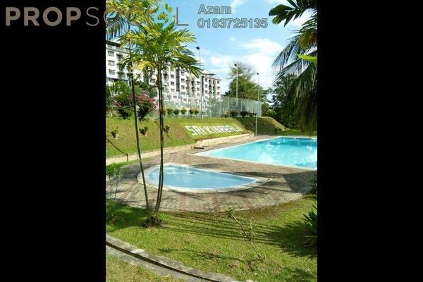 For Sale Condominium at Sri Kinabalu, Wangsa Maju Freehold Semi Furnished 4R/2B 365k