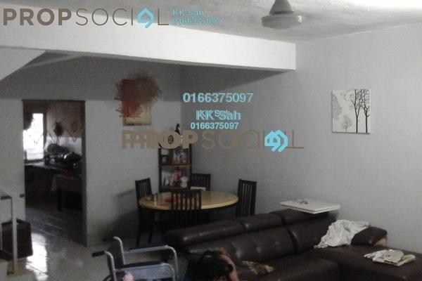 For Sale Link at Taman Sentosa Perdana, Klang Freehold Semi Furnished 4R/3B 348k