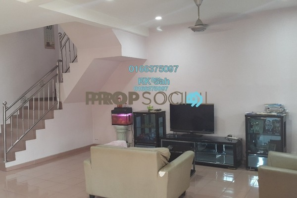 For Sale Link at Taman Klang Utama, Klang Freehold Semi Furnished 4R/2B 588k