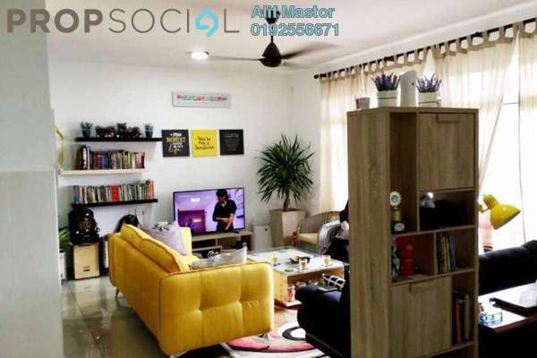 For Sale Condominium at Dwiputra Residences, Putrajaya Freehold Unfurnished 3R/2B 530k