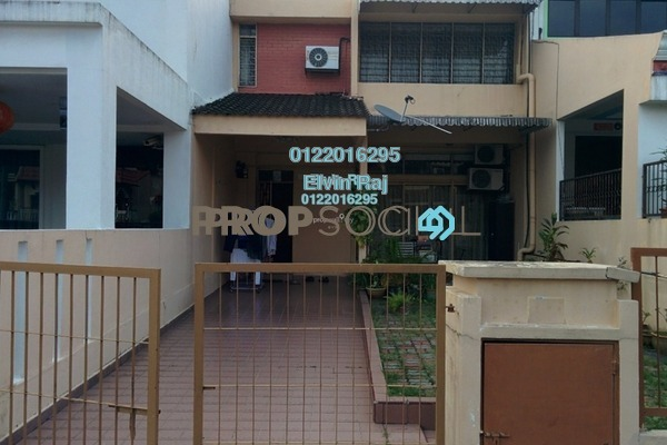 For Sale Terrace at Taman Bukit Maluri, Kepong Freehold Semi Furnished 4R/3B 925k