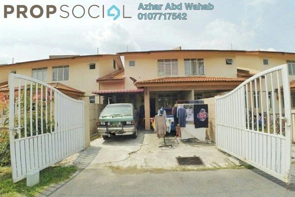 For Sale Terrace at Indigo Homes, Bandar Saujana Putra Freehold Unfurnished 4R/3B 420k