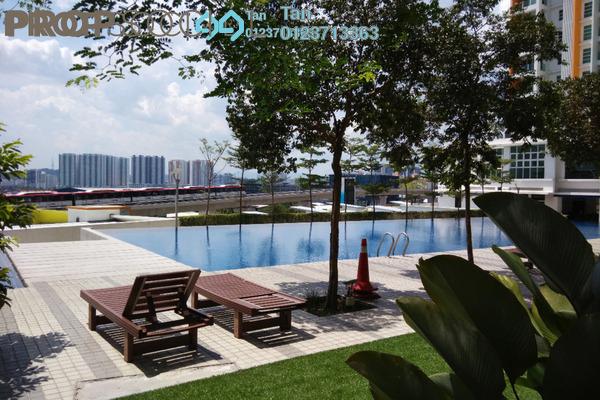 For Sale Serviced Residence at The Zest, Bandar Kinrara Freehold Semi Furnished 3R/2B 630k