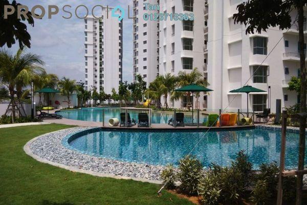 For Sale Serviced Residence at Jadite Suites, Kajang Freehold Fully Furnished 2R/2B 498k