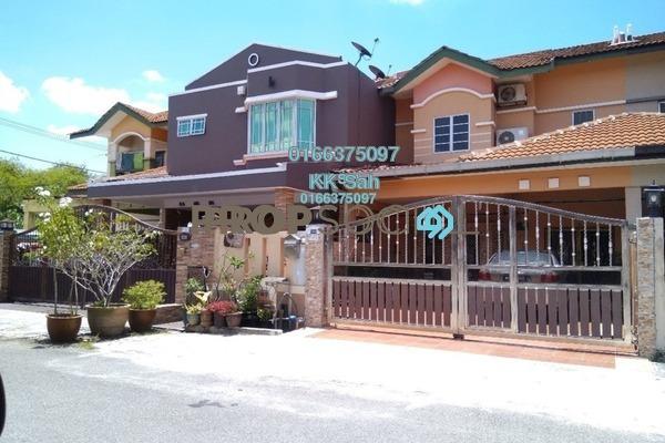 For Sale Terrace at Taman Damai Impian 1, Bandar Damai Perdana Freehold Semi Furnished 4R/3B 730k