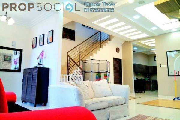 For Sale Semi-Detached at Taman Aman Perdana, Meru Freehold Semi Furnished 4R/3B 758k