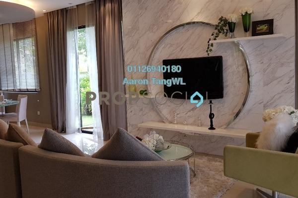 For Sale Superlink at Anggun 3, Rawang Freehold Unfurnished 5R/4B 800k