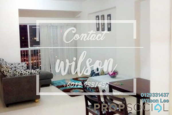 For Rent Condominium at Menara Pelangi, Brickfields Freehold Fully Furnished 3R/2B 2.3k