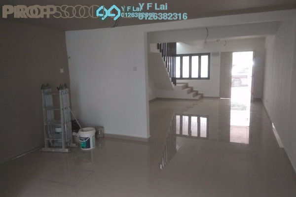For Sale Terrace at Taman Jasmin, Kajang Freehold Semi Furnished 3R/2B 365k