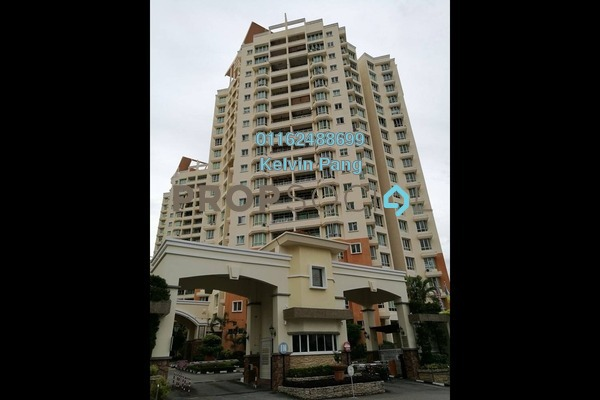 For Sale Condominium at Regency Heights, Sungai Ara Freehold Fully Furnished 3R/2B 600k