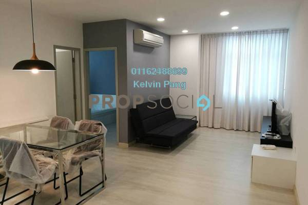 For Rent SoHo/Studio at Straits Garden, Jelutong Freehold Fully Furnished 2R/1B 2.3k