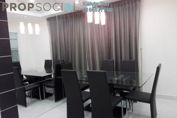 For Rent Condominium at The Spring, Jelutong Freehold Fully Furnished 3R/2B 1.65k