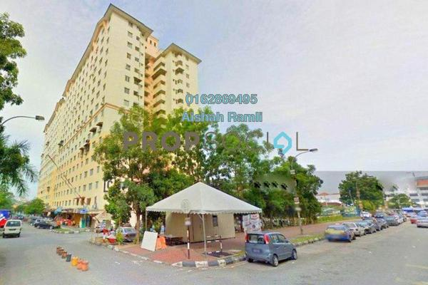 For Sale Apartment at Sri Rakyat Apartment, Bukit Jalil Freehold Semi Furnished 3R/1B 225k