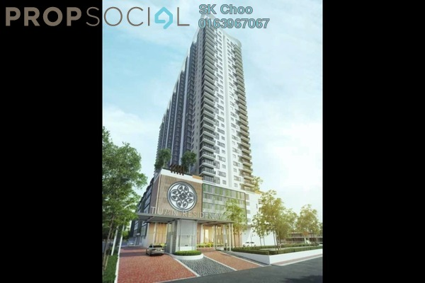 For Sale Condominium at Tuan Residency, Jalan Ipoh Freehold Unfurnished 3R/2B 430k
