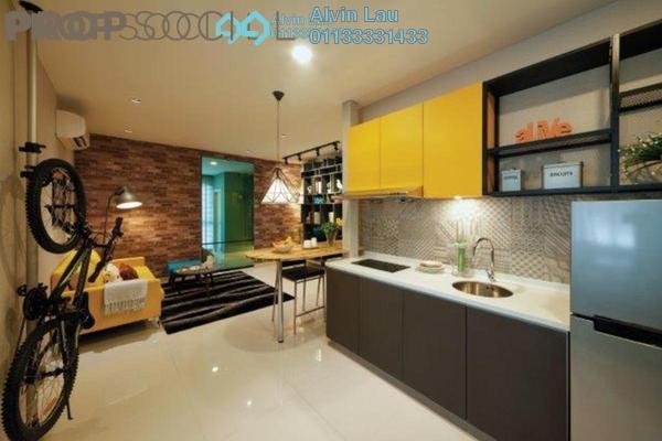 For Sale SoHo/Studio at Liberty Arc @ Ampang Ukay, Ukay Freehold Fully Furnished 1R/1B 315k