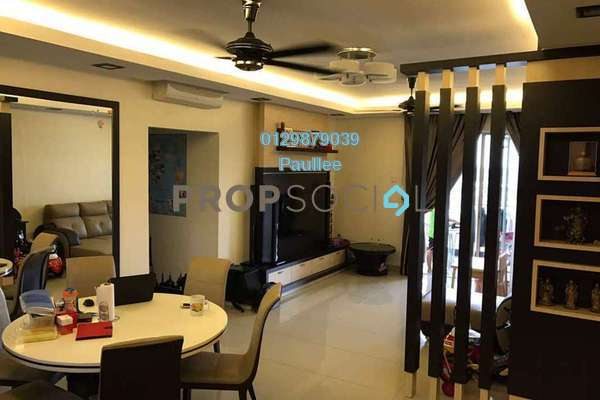 For Sale Condominium at Zen Residence, Puchong Freehold Semi Furnished 4R/2B 538k
