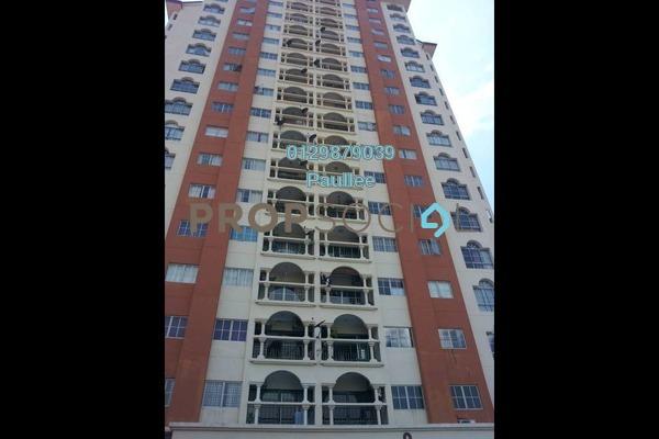 For Rent Condominium at La Vista, Bandar Puchong Jaya Freehold Semi Furnished 4R/3B 1.5k