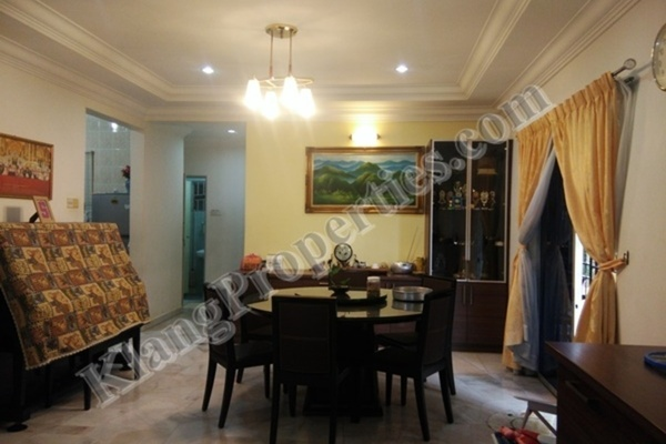 For Sale Semi-Detached at Taman Sejahtera, Klang Freehold Semi Furnished 4R/4B 860k