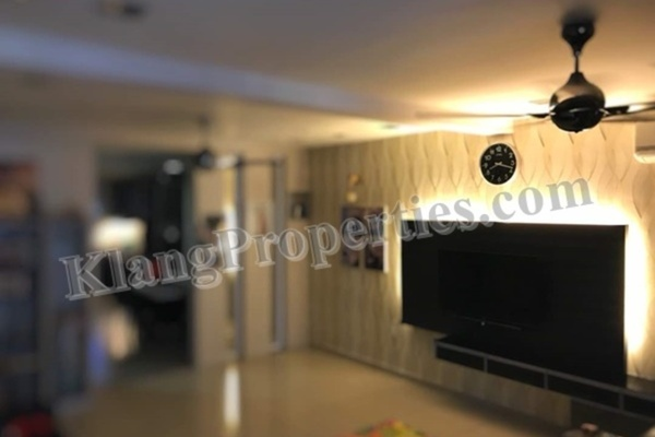 For Sale Terrace at Bandar Botanic, Klang Freehold Semi Furnished 5R/4B 989k