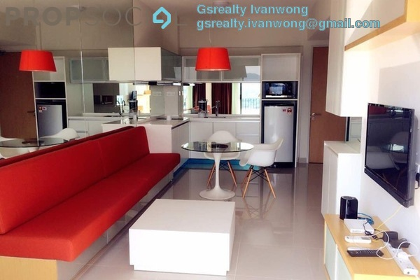 For Rent Condominium at Dex @ Kiara East, Jalan Ipoh Freehold Fully Furnished 2R/1B 1.7k