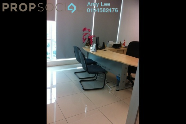 For Rent Office at Oval Tower, TTDI Freehold Fully Furnished 0R/1B 3.95k