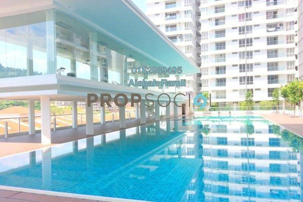For Sale Condominium at Platinum Lake PV16, Setapak Freehold Semi Furnished 3R/2B 590k