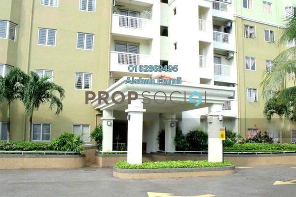 For Sale Condominium at Anggun Puri, Dutamas Freehold Semi Furnished 3R/2B 460k
