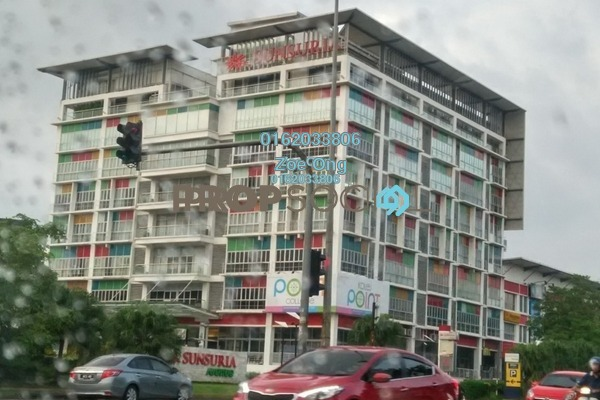 For Rent Office at Sunsuria Avenue, Kota Damansara Freehold Unfurnished 1R/1B 1.8k
