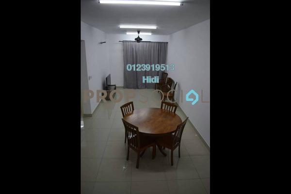 For Rent Serviced Residence at De Centrum Residences, Kajang Freehold Fully Furnished 3R/2B 2.6k