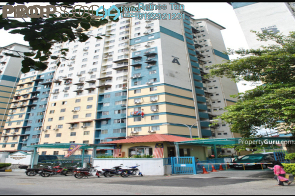 For Sale Apartment at Vista Serdang Apartment, Seri Kembangan Freehold Semi Furnished 3R/2B 230k